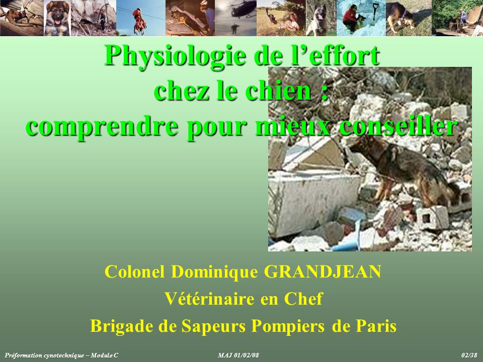 Colonel Dominique GRANDJEAN Brigade de Sapeurs Pompiers de Paris
