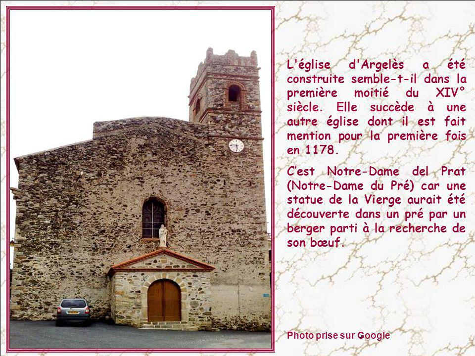 L église d Argelès a été construite semble-t-il dans la première moitié du XIV° siècle. Elle succède à une autre église dont il est fait mention pour la première fois en 1178.