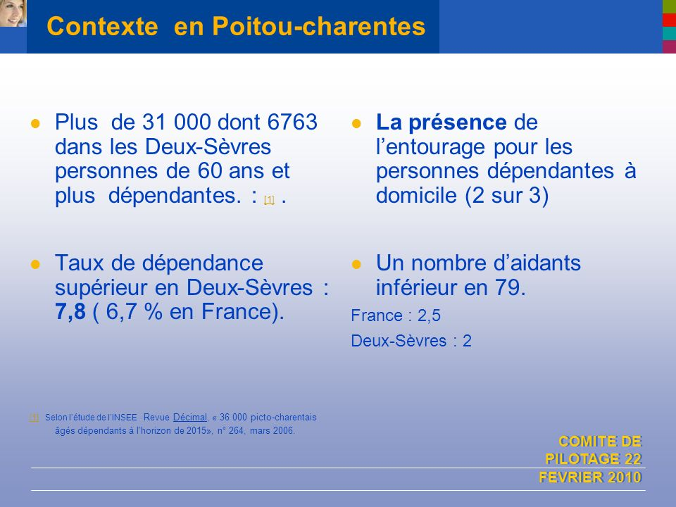 Contexte en Poitou-charentes