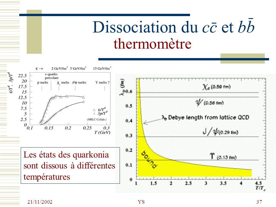 Dissociation du cc et bb thermomètre
