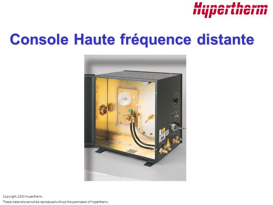 Console Haute fréquence distante