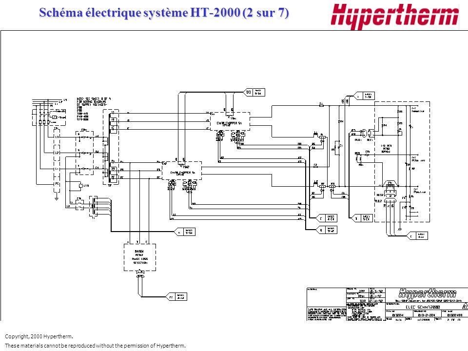 Schéma électrique système HT-2000 (2 sur 7)