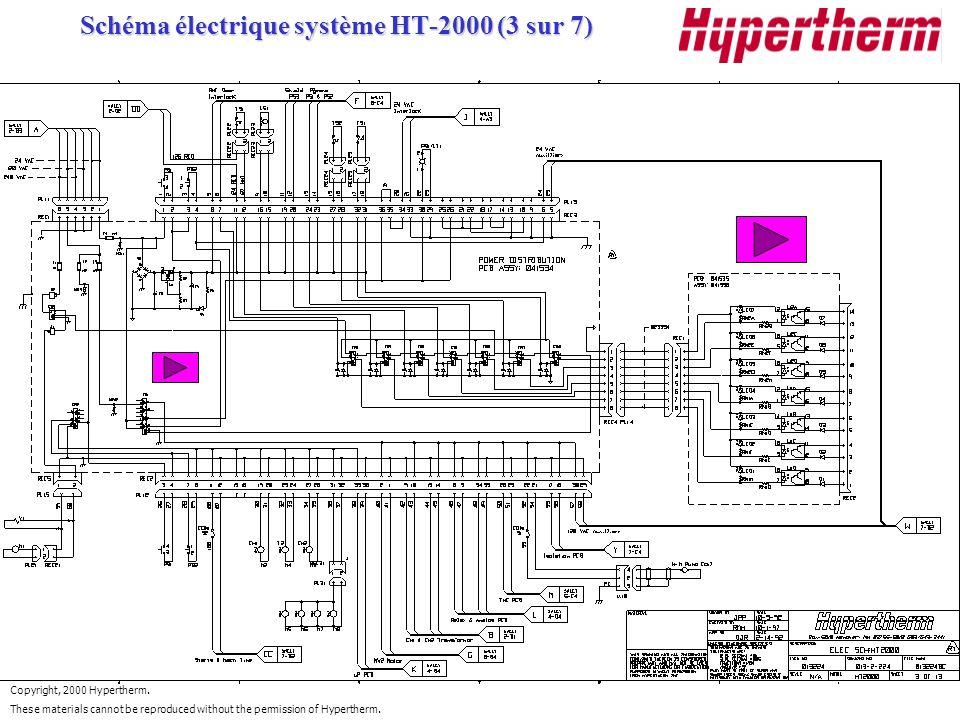 Schéma électrique système HT-2000 (3 sur 7)