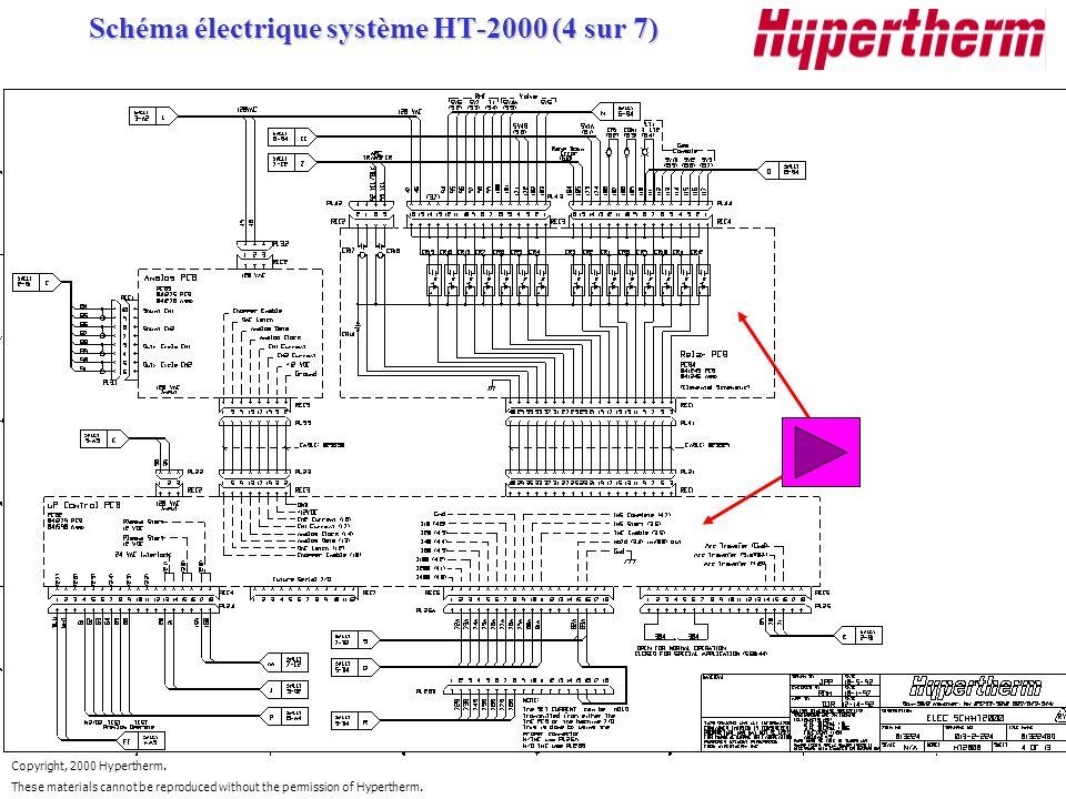 Schéma électrique système HT-2000 (4 sur 7)
