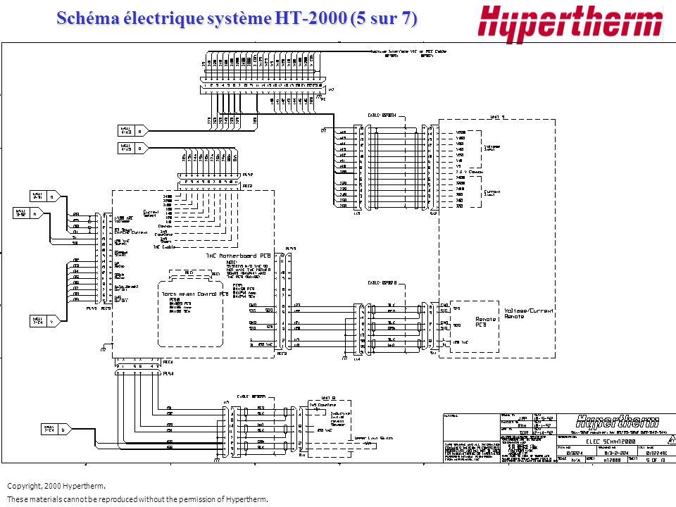 Schéma électrique système HT-2000 (5 sur 7)