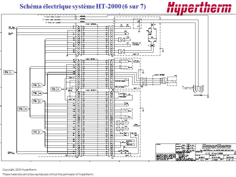 Schéma électrique système HT-2000 (6 sur 7)