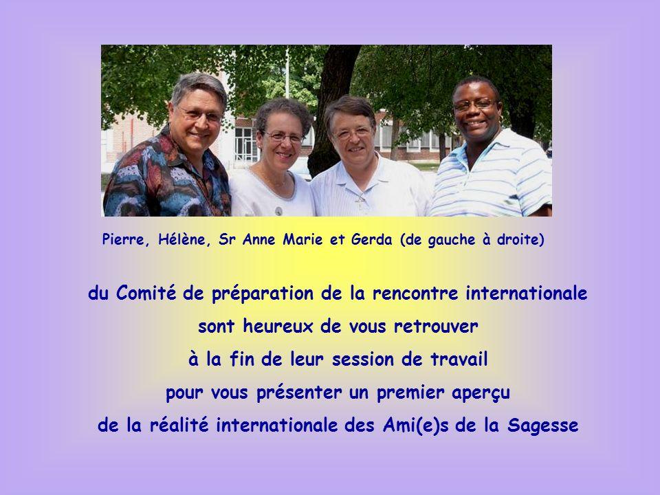du Comité de préparation de la rencontre internationale