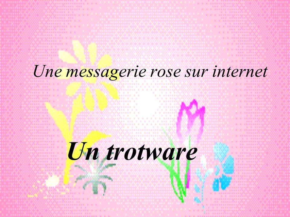 Une messagerie rose sur internet