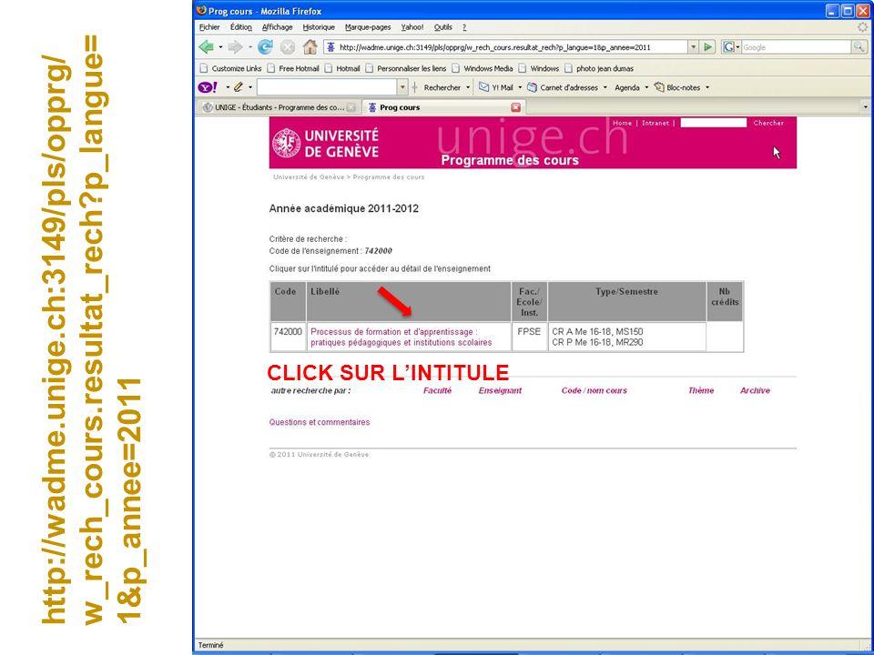 http://wadme. unige. ch:3149/pls/opprg/w_rech_cours. resultat_rech