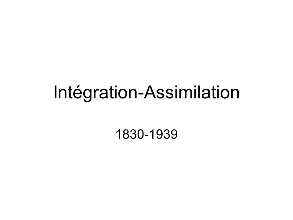 Intégration-Assimilation