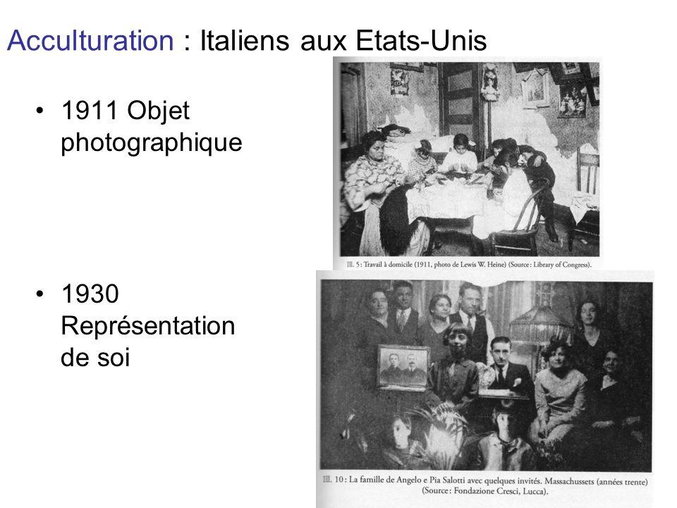 Acculturation : Italiens aux Etats-Unis