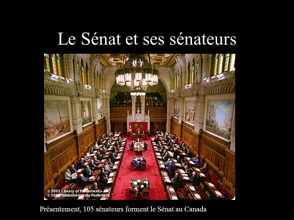 Le Sénat et ses sénateurs
