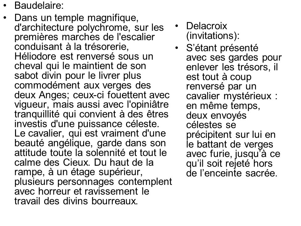 Baudelaire: