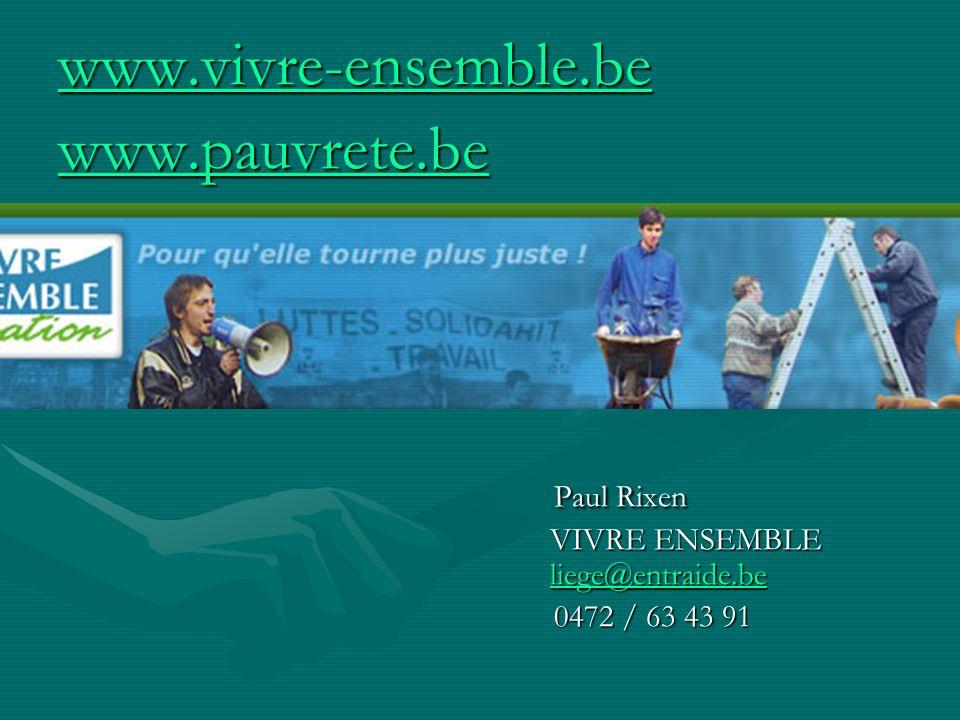 Paul Rixen VIVRE ENSEMBLE liege@entraide.be