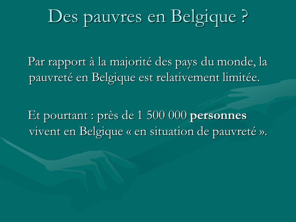 Des pauvres en Belgique