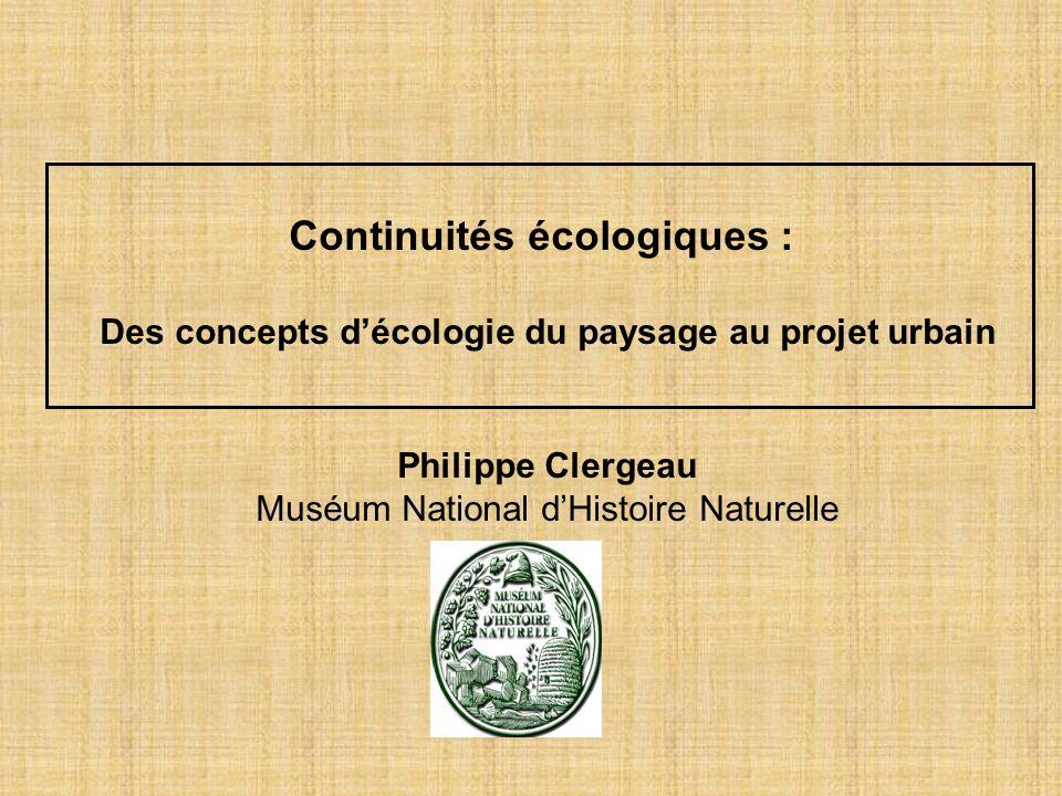 Continuités écologiques :