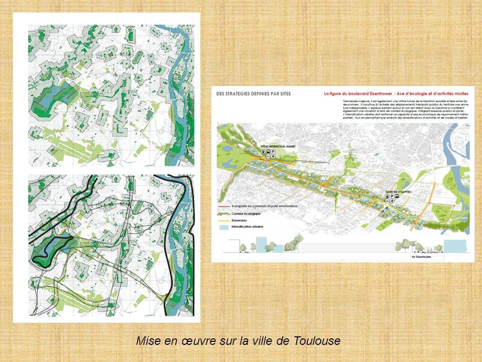 Mise en œuvre sur la ville de Toulouse
