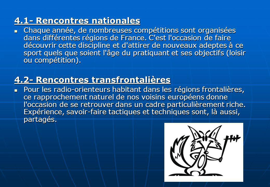 4.1- Rencontres nationales