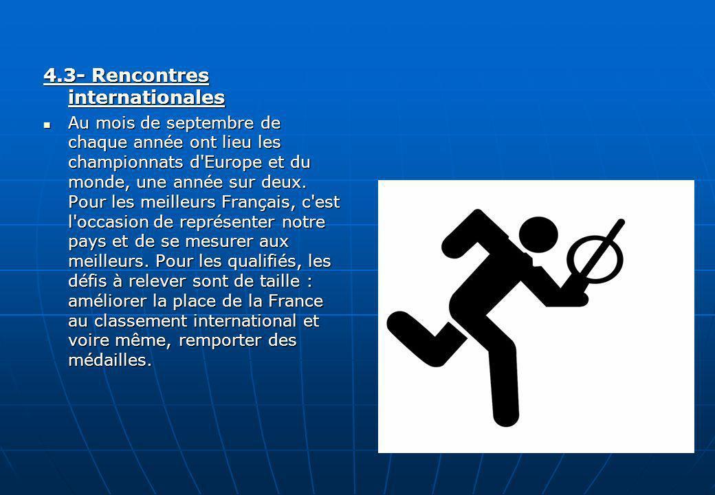 4.3- Rencontres internationales
