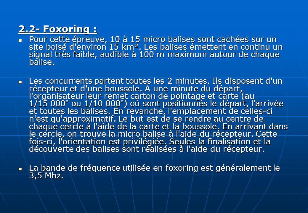 2.2- Foxoring :