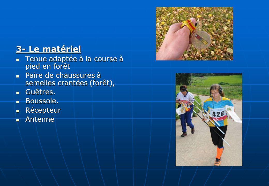 3- Le matériel Tenue adaptée à la course à pied en forêt