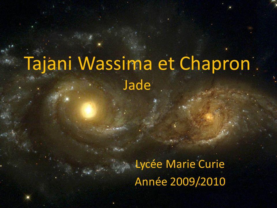 Tajani Wassima et Chapron Jade