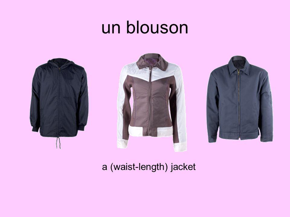 un blouson a (waist-length) jacket