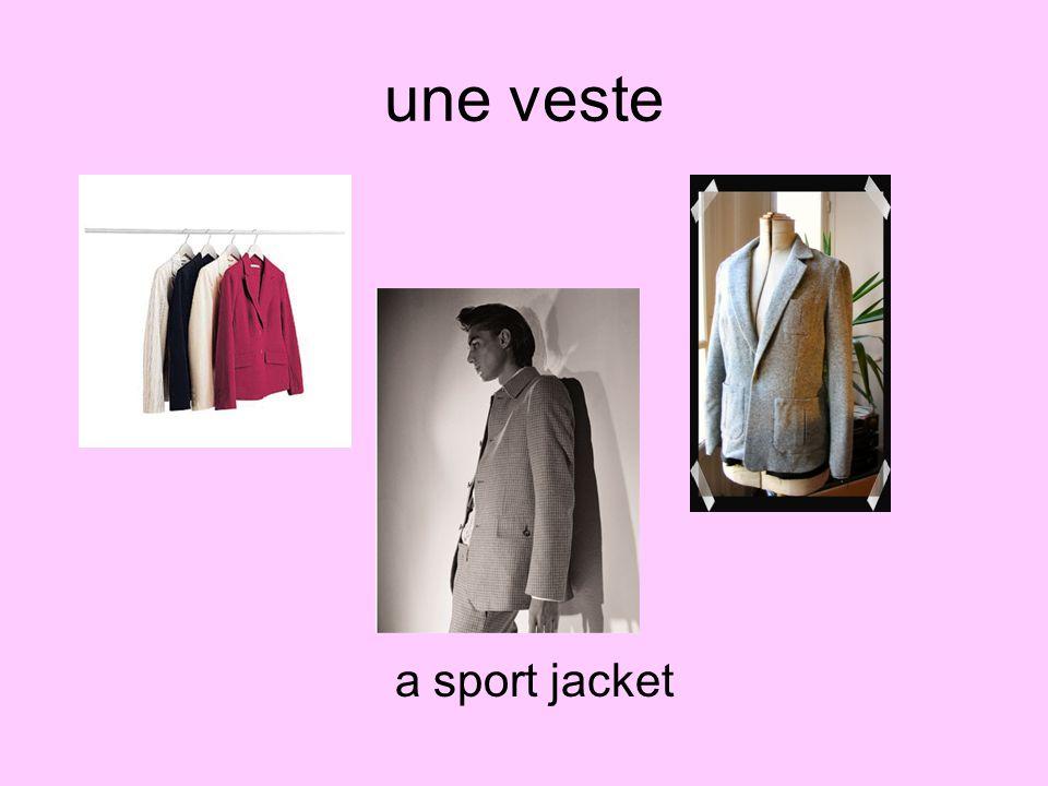 une veste a sport jacket
