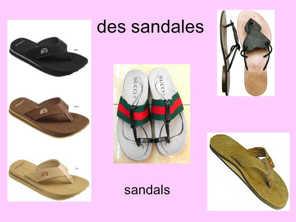des sandales sandals