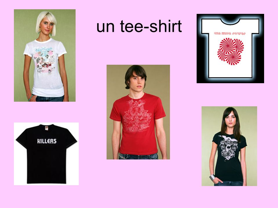 un tee-shirt