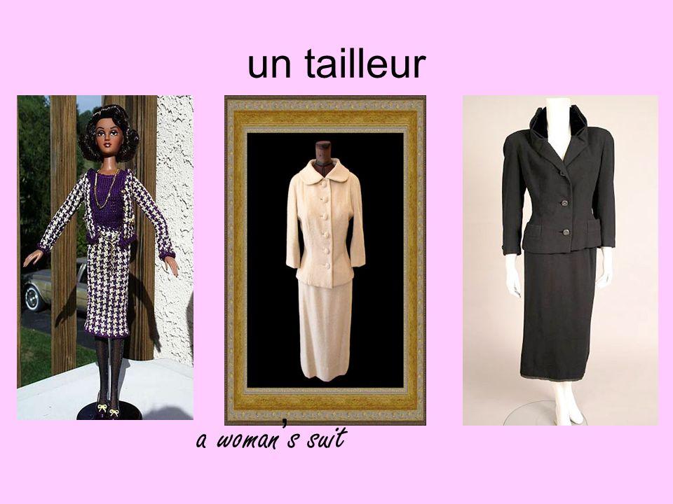 un tailleur a woman's suit