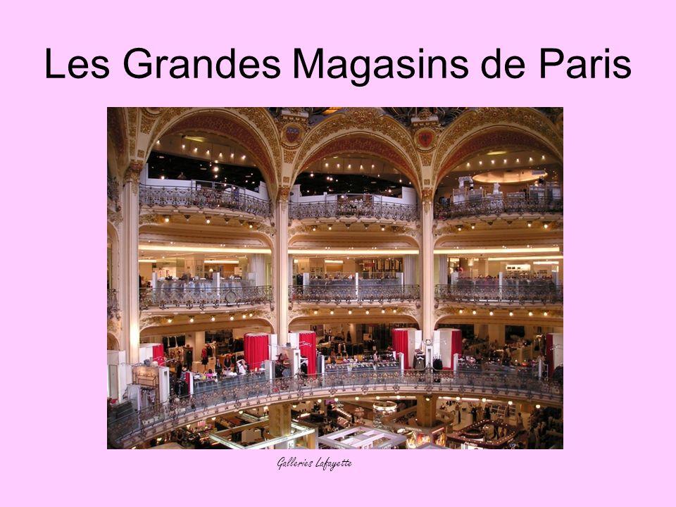 Les Grandes Magasins de Paris