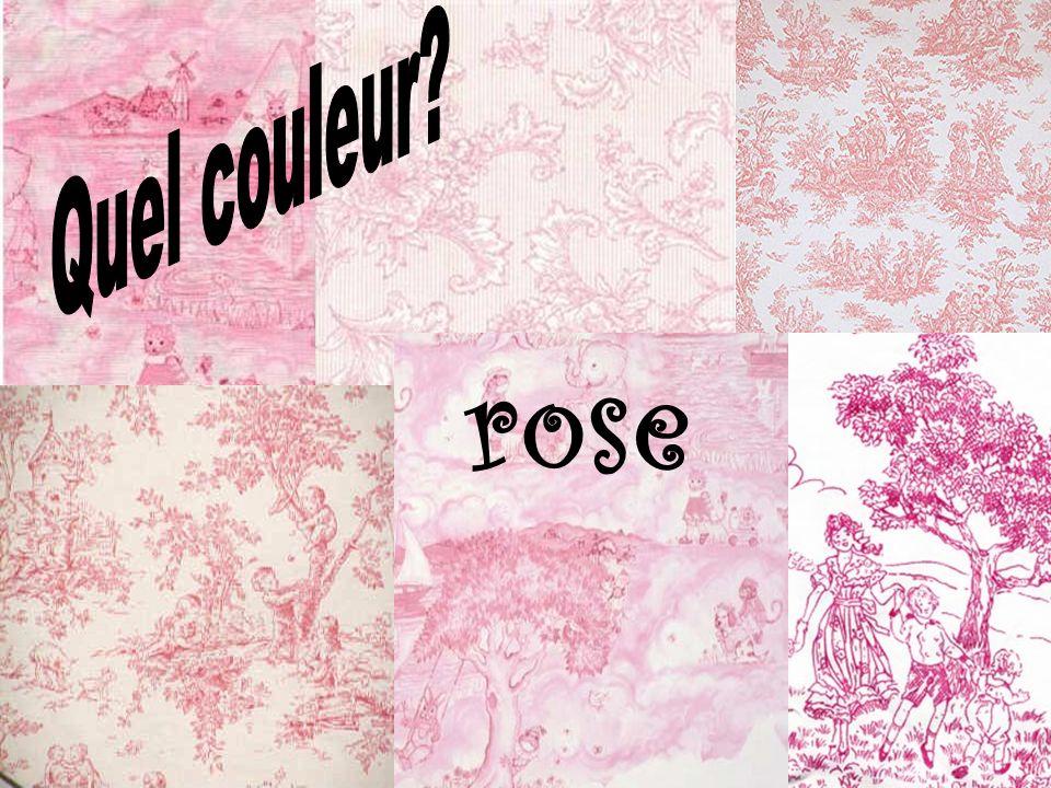 Quel couleur rose