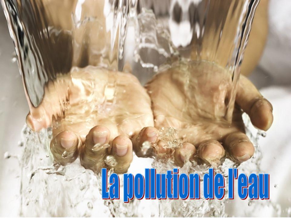 La pollution de l eau
