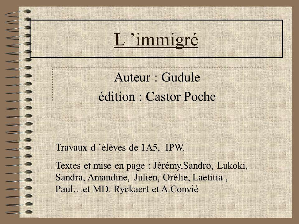 Auteur : Gudule édition : Castor Poche