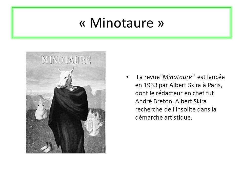 « Minotaure »