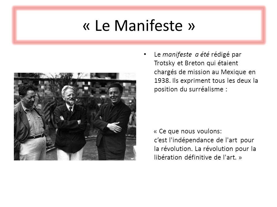 « Le Manifeste »