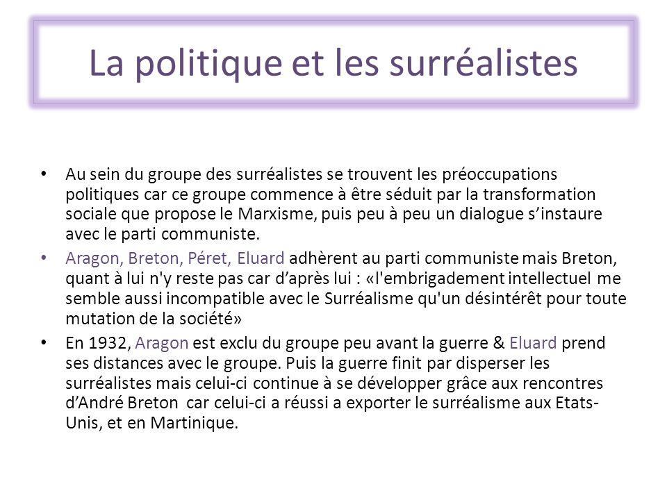 La politique et les surréalistes