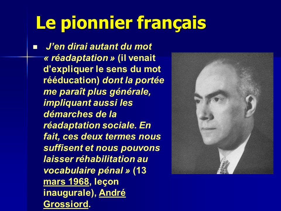 Le pionnier français