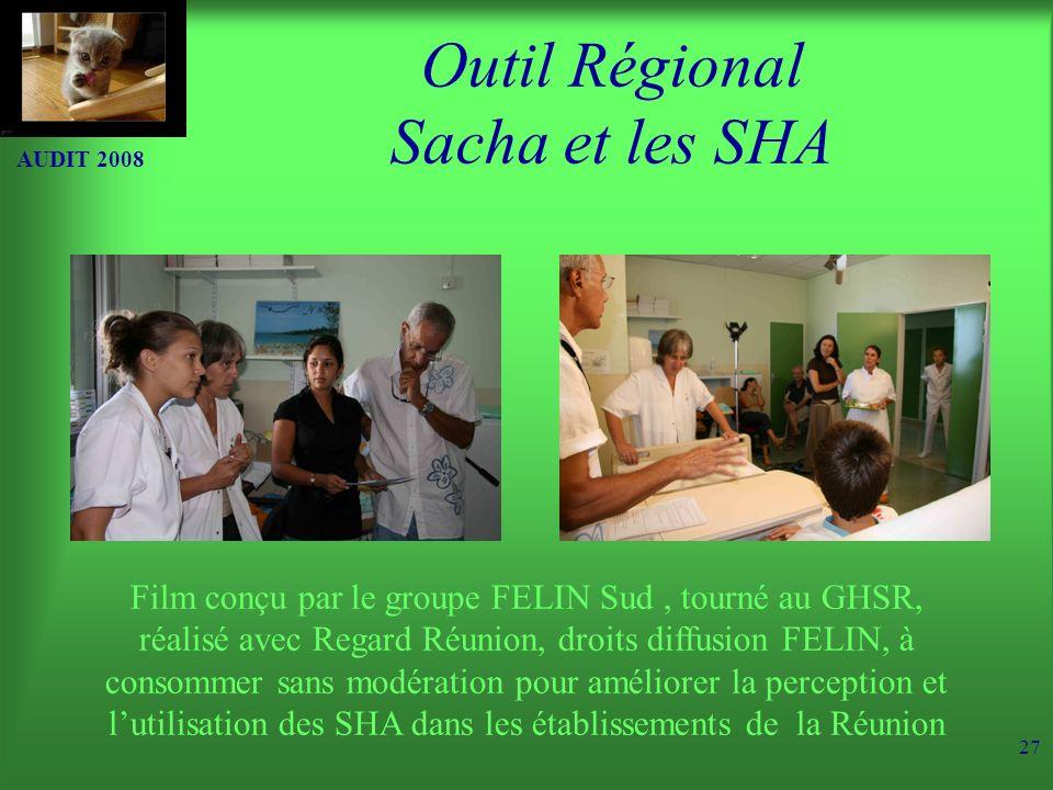 Outil Régional Sacha et les SHA