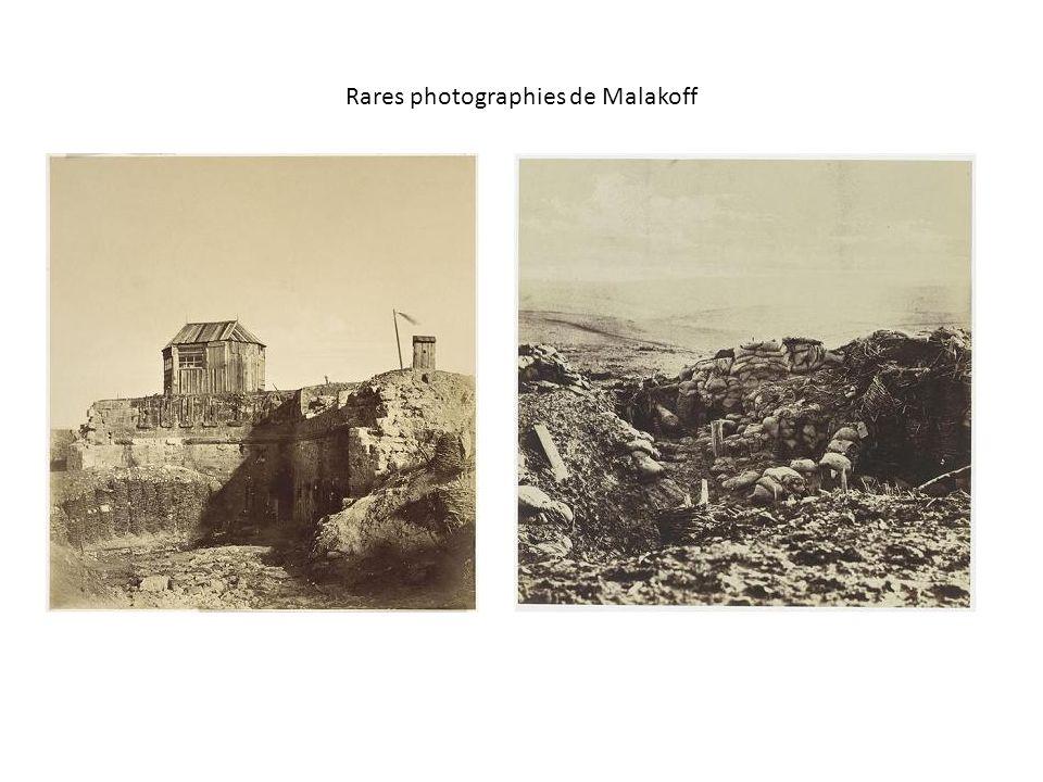 Rares photographies de Malakoff
