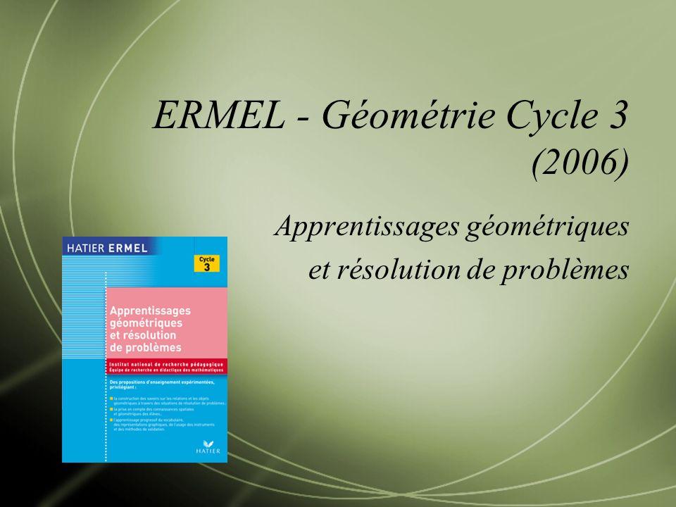 ERMEL - Géométrie Cycle 3 (2006)