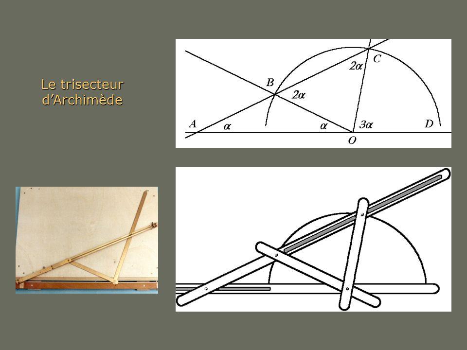 Le trisecteur d'Archimède