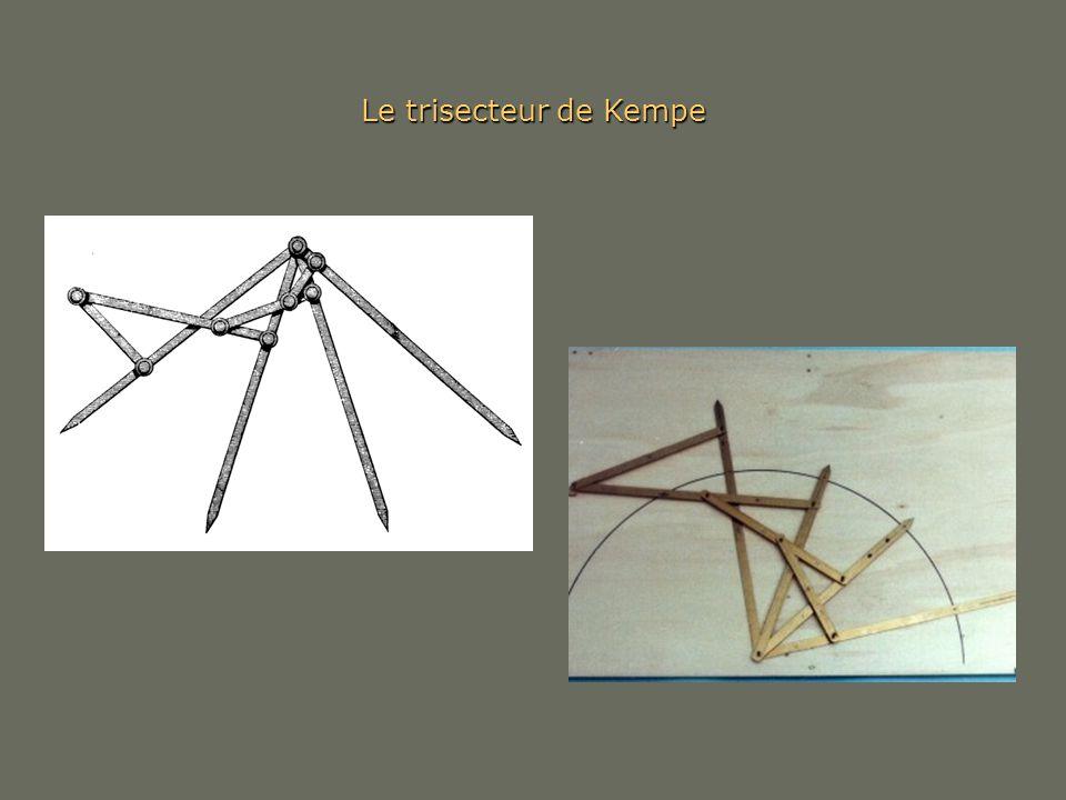Le trisecteur de Kempe