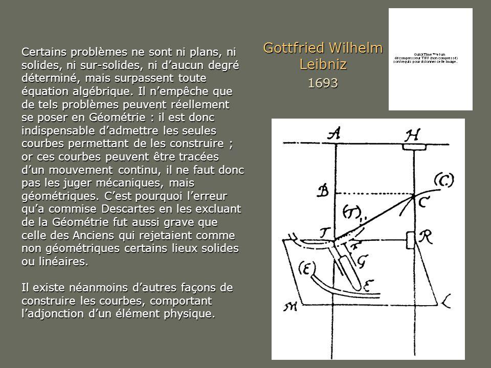 Gottfried Wilhelm Leibniz 1693