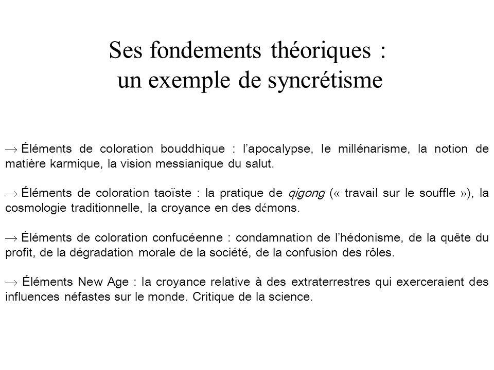 Ses fondements théoriques : un exemple de syncrétisme