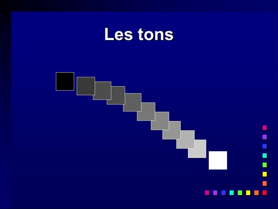 Les tons