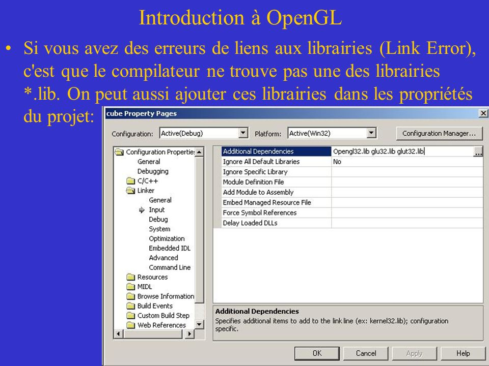 Introduction à OpenGL