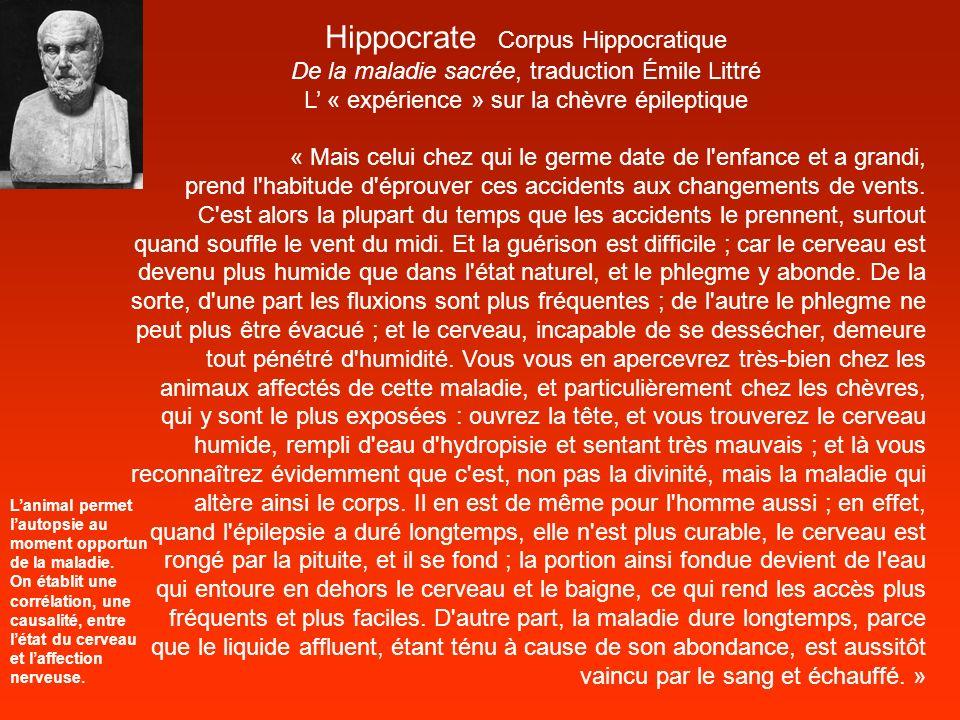 Hippocrate Corpus Hippocratique