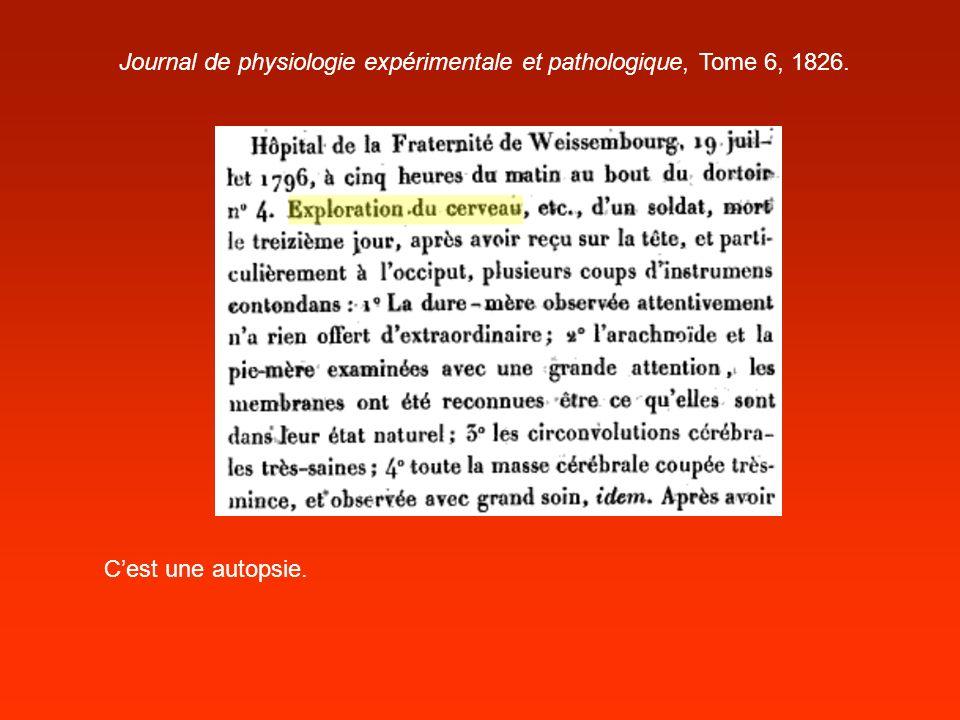 Journal de physiologie expérimentale et pathologique, Tome 6, 1826.